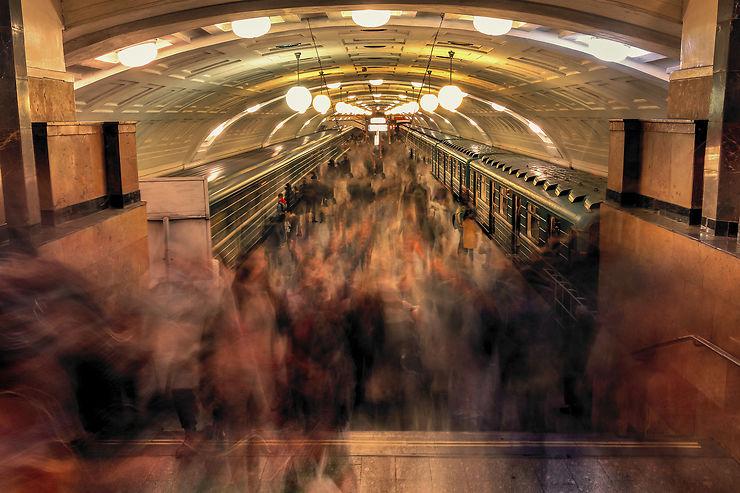 Le métro de Moscou : un bébé de Staline