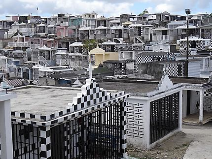 Le cimetière de Morne à l'eau