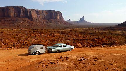 """""""vision rétro"""" à Monument Valley"""
