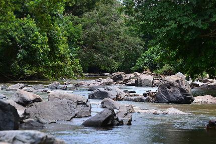 Rivière Lopé, au Gabon