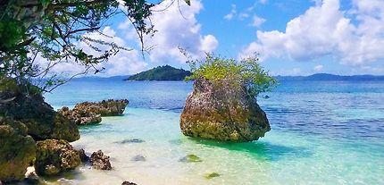 Petite plage de rêve sur Bolilanga