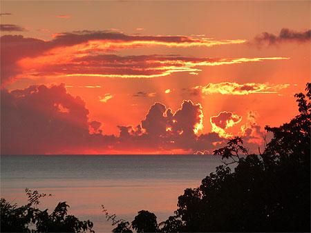 Coucher de soleil pointe noire coucher de soleil pointe noire basse terre guadeloupe - Coucher de soleil en guadeloupe ...