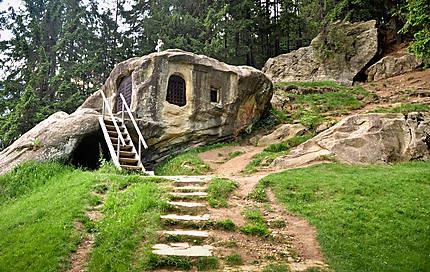"La grotte de ""Daniil l'ermite"""