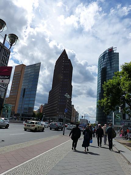 Des buildings ultra modernes