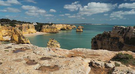 Côte de l'Algarve au Portugal