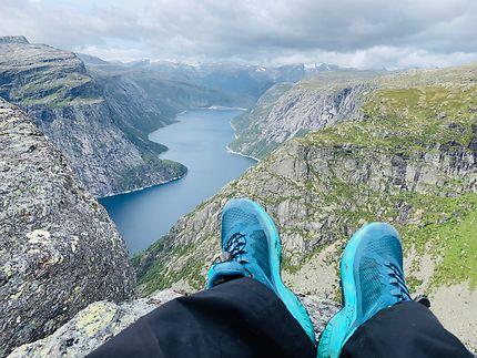 A pied au Sognefjord