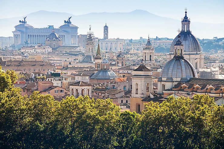 Balades Romantiques Dans Rome