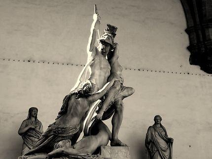 Le viol de Polyxena, Florence