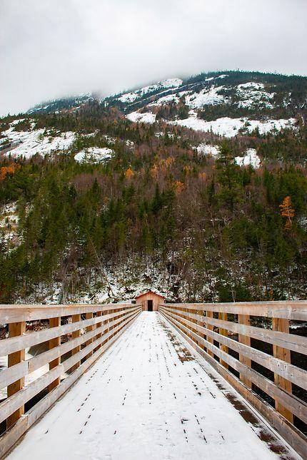 Ma cabane au Canada, parc Jacques-Cartier