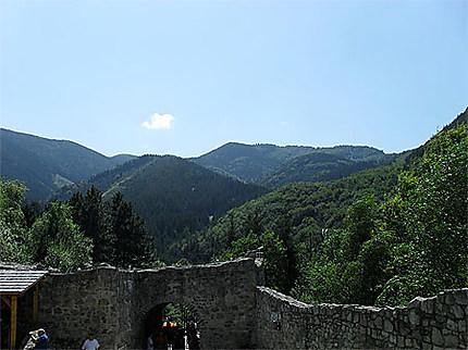 Paysage autour de Strecno