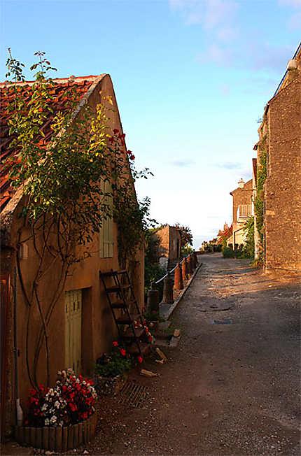 Vézelay - rue de l'Argenterie