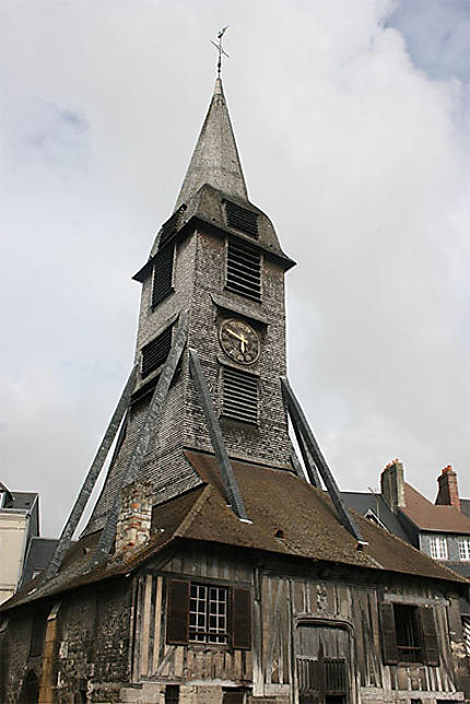 Clocher de l'église Sainte-Catherine