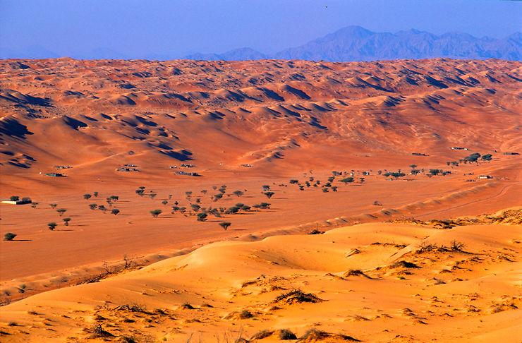 Des bivouacs sur le sable d'une plage… ou du désert