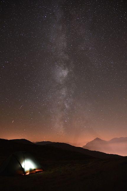 Encore un bivouac à rêver sous les étoiles à 3000m
