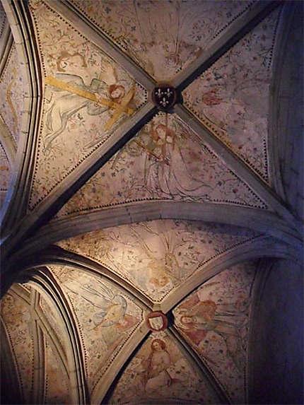 Plafond orné