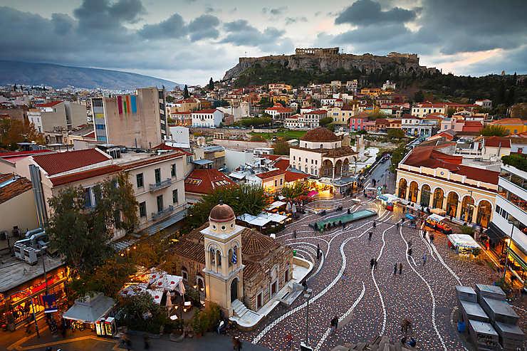 Plaka, Monastiraki, les Halles : la rue est un théâtre