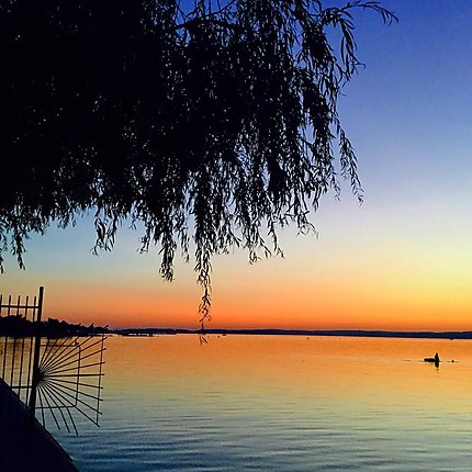 Coucher de Soleil sur le Balaton