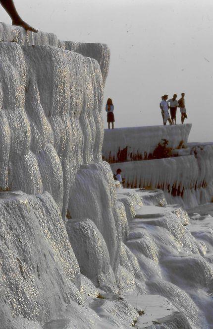 Cascade calcaire à Pamukkale