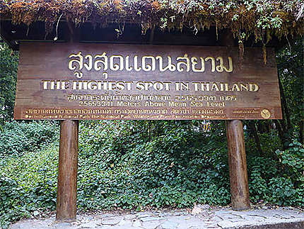 Point le plus haut de Thailande