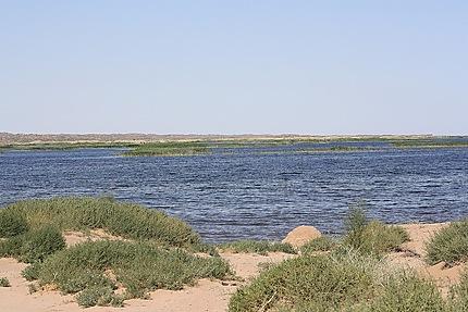 Halte repos au lac Ajdarkul