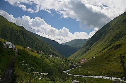 La vallée de Djuta