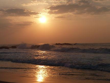 Levé du soleil à Tangalle