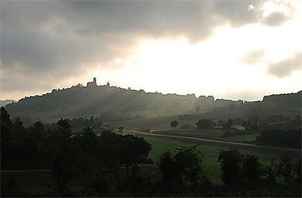 Vézelay au petit matin