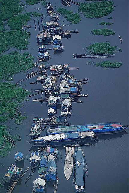 Bords du fleuve Congo à Kinshasa