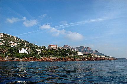 Esterel by the sea
