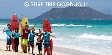Fuerteventura : stage de surf, 7 jours
