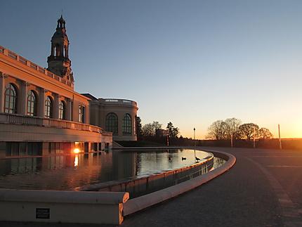 Lever de soleil au Palais Beaumont