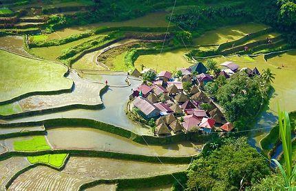 Batad et ses rizières en terrasses vertigineuses