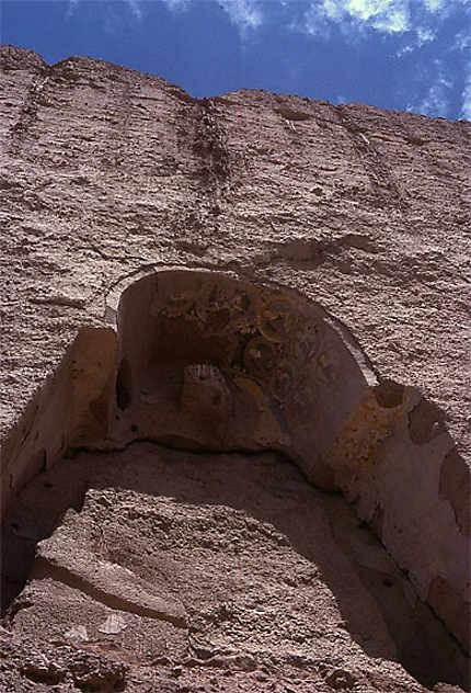 Niches à statues à Bamyan