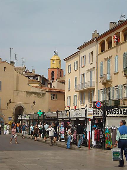 Quais du port de St Tropez