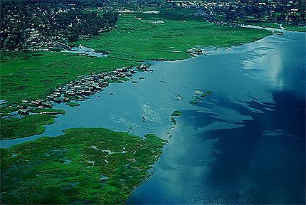 Bords du fleuve Congo à Mbandaka