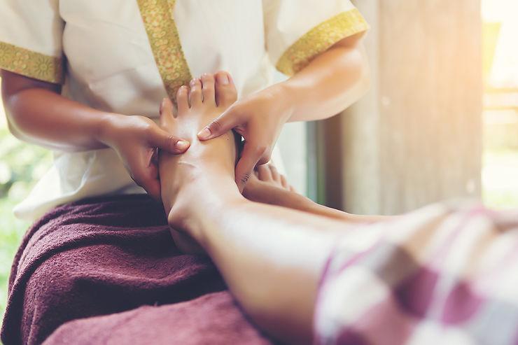 Se relaxer avec un massage