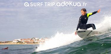 Portugal : guest house, cours de surf, 7 jours