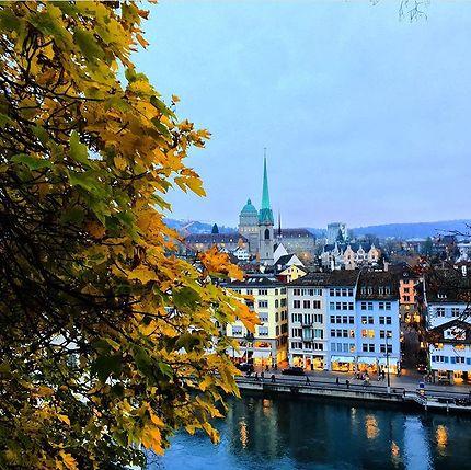 Visite de Zürich