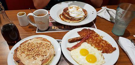 Petit-déjeuner à l'américaine, Market Street