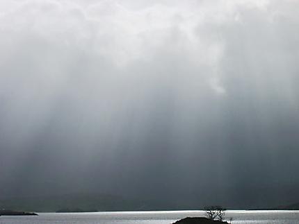 Soleil après orage matinal