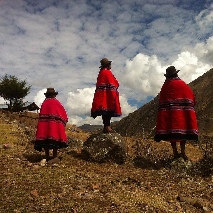 Des tricots pour guérir les blessures, Ayacucho, Pérou
