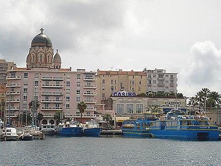 Vue sur le casino de St Raphaël