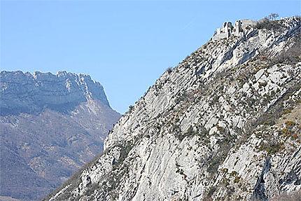 Grenoble - Vue sur le Mont Jalla et le Néron