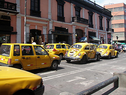 Taxis sur Lima