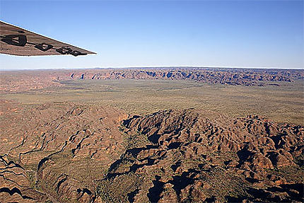 Survol des Bungle Bungle (Kimberley)