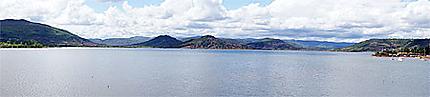 Le lac du Salagou en panorama