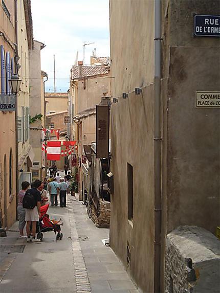 Ruelle à St Tropez