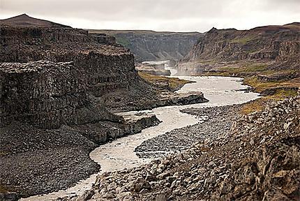 Canyon de Gullfoss