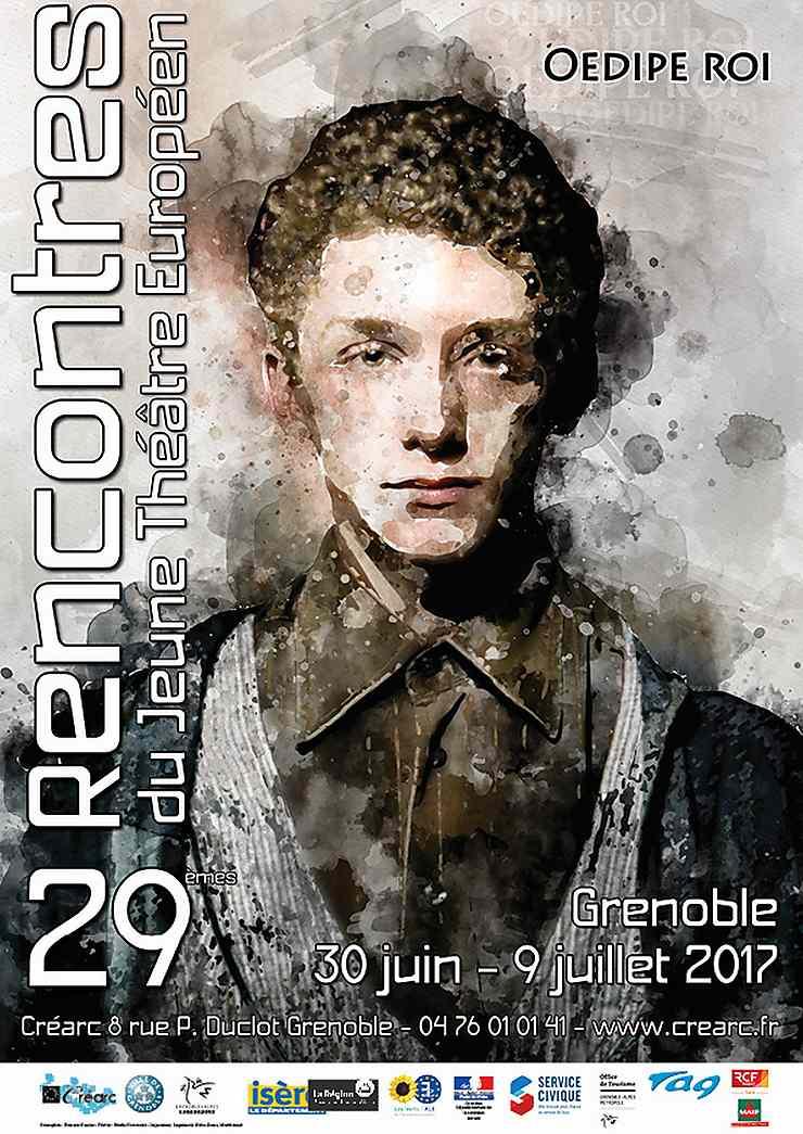 Rencontres du jeune théâtre européen à Grenoble