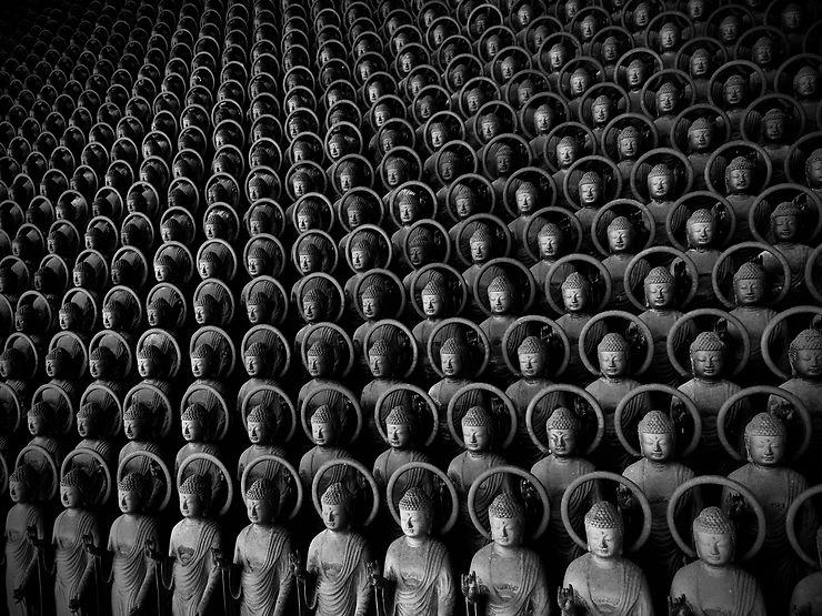 84 000 statues de Yakushi Nyorai, Shimane, Japon